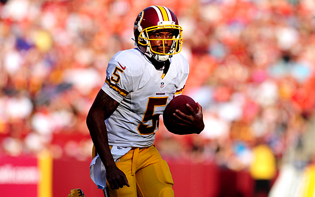 Pat White Redskins Pat White is Back in The Nfl