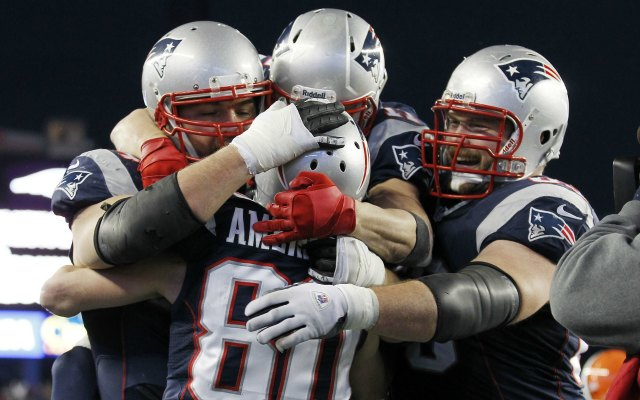 New England put up some big numbers in its comeback win. (USATSI)