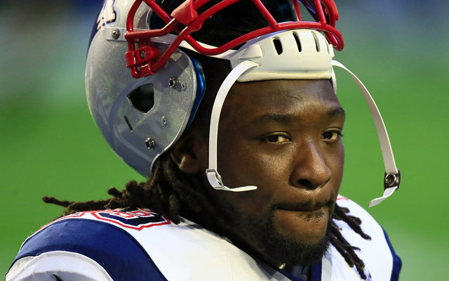 LeGarrette Blount is out for a reunion game vs. the Steelers in Week 1.