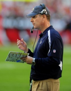 Pat Shurmur was introduced as the Denver coach today (US Presswire).