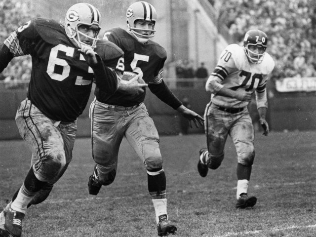 Paul Hornung could thank John F. Kennedy and Vince Lombardi for his 1961 NFL title game performance. (Getty Images)
