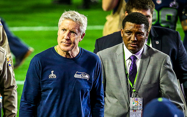Pete Carroll was so close to back-to-back Lombardi Trophies. (Getty Images)