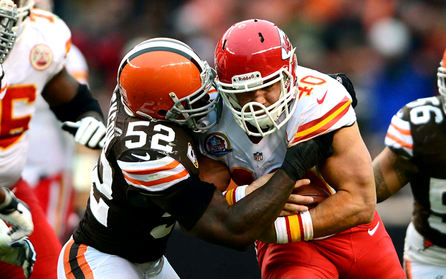Peyton Hillis could play a bigger role on Monday. (USATSI)