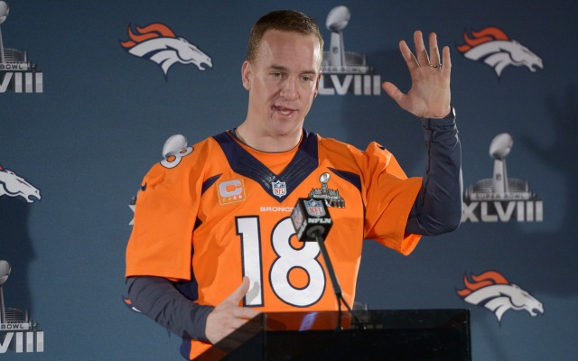 Peyton Manning on throwing 'ducks': 'I believe it to be true'
