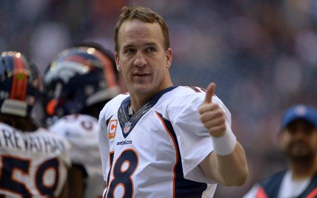 Peyton Manning has a brand new NFL record. (USATSI)