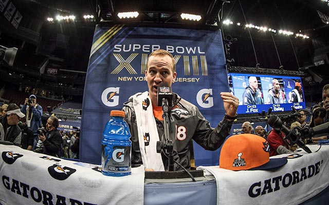 Peyton Manning would like to play out his current contract. (USATSI)