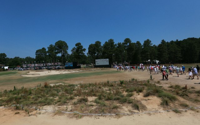 Donald Trump isn't a fan of the way Pinehurst looks. (USATSI)