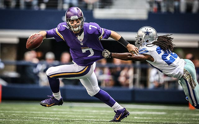 Christian Ponder is expected back in 2014 but in what capacity?. (USATSI)