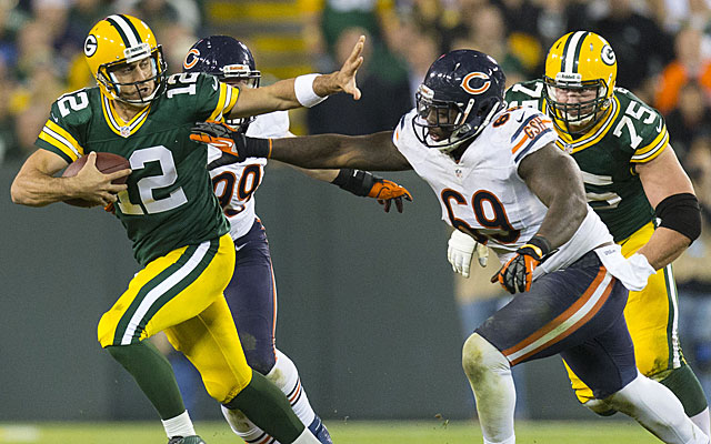 Packers vs. Bears (US Presswire)