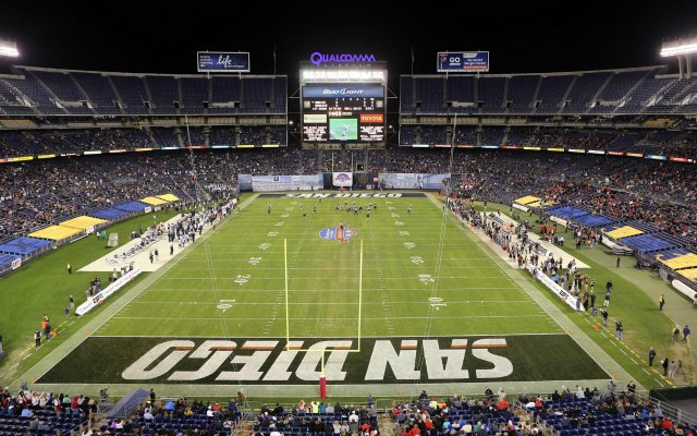 Qualcomm Stadium is 47 years old. (USATSI)