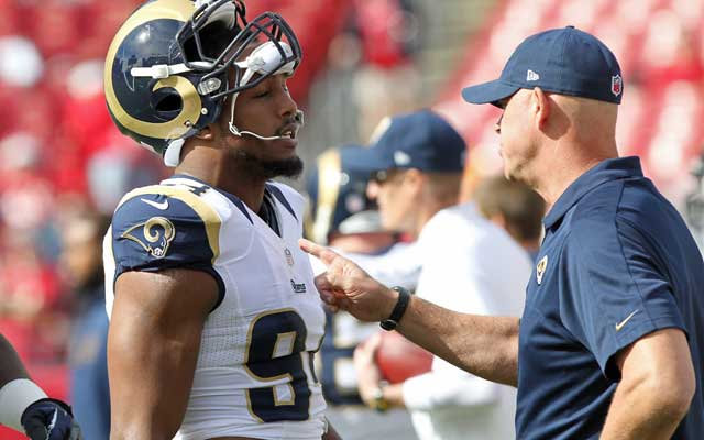 Robert Quinn has thrived working with DL coach Mike Waufle.