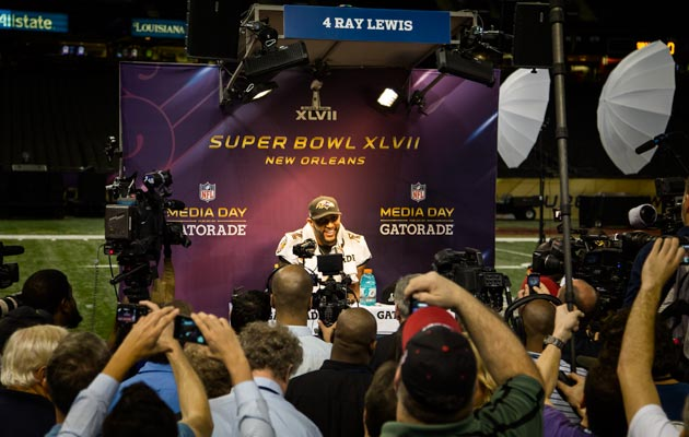 Ray Lewis played 17 NFL seasons and won 2 Super Bowls. (Ryan Wilson, CBSSports.com)