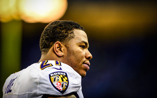 Ray Rice will miss the first two games of the 2014 season. (USATSI)