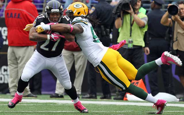 Ray Rice is averaging a paltry 2.8 yards per carry this season.