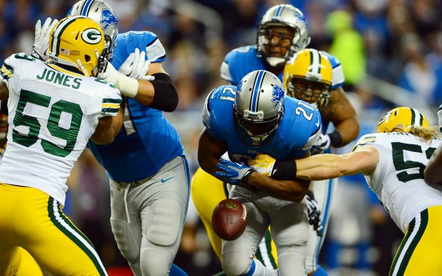Clay Matthews caused a Reggie Bush fumble. (USATSI)
