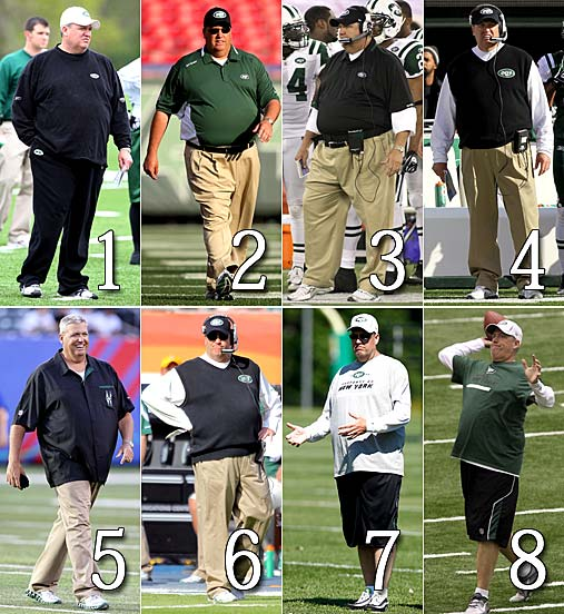 After lap-band surgery, Jets coach Rex Ryan has lost 100 pounds in two years - CBSSports.com