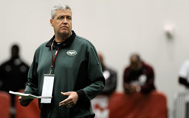 Rex Ryan says the Jets are not 'actively trying to trade' Darrelle Revis. (USATSI)
