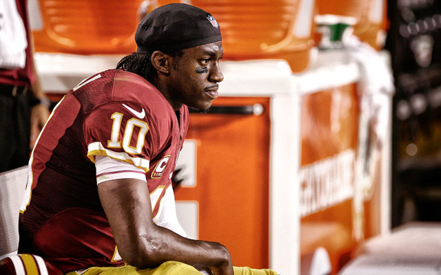 Robert Griffin III continues to sit in a team controversy. (USATSI)