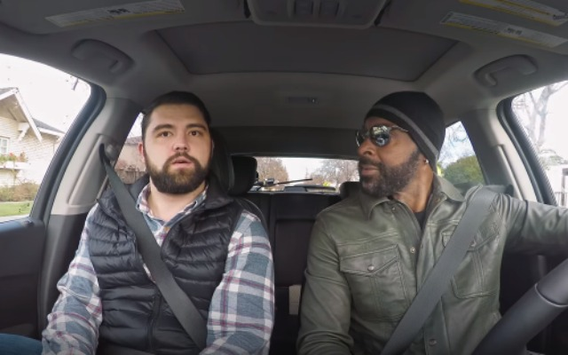 Jerry Rice goes undercover as Lyft driver