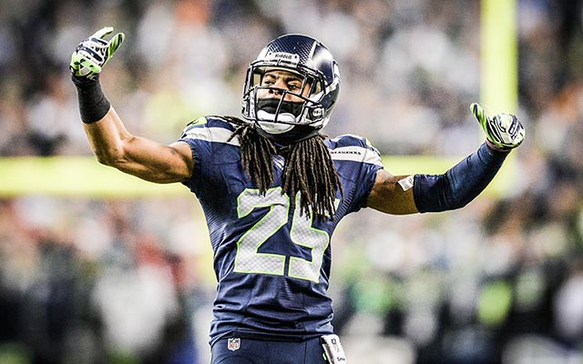 Richard Sherman was feeling testy on Wednesday. (USATSI)