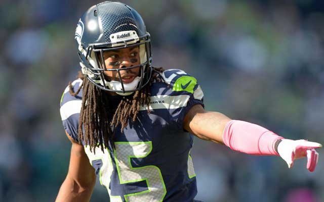 Richard Sherman will likely demand Revis money. (USATSI)
