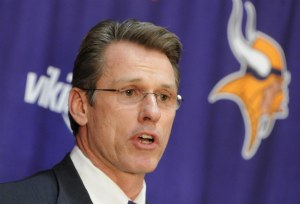 Rick Spielman was named the Minnesota GM this week (AP).
