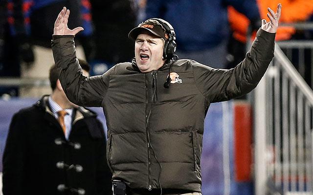 Browns fire coach Rob Chudzinski