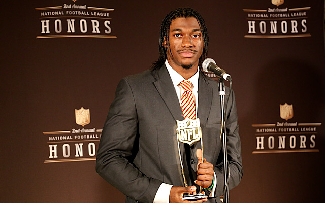 Robert Griffin III, superhuman. (Ryan Wilson, CBSSports.com)