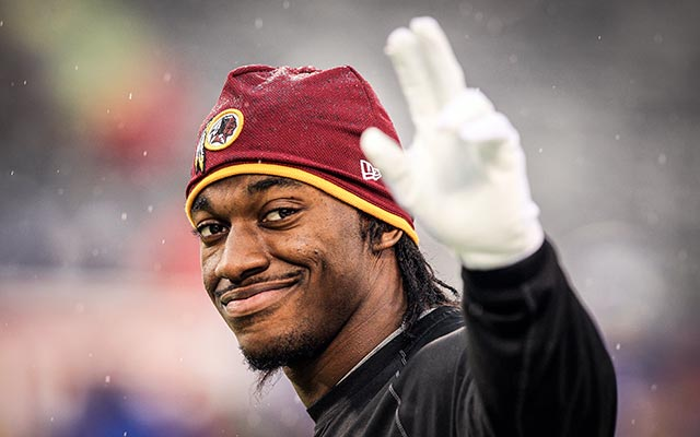 RG3 is looking forward to playing for Jay Gruden. (USATSI)