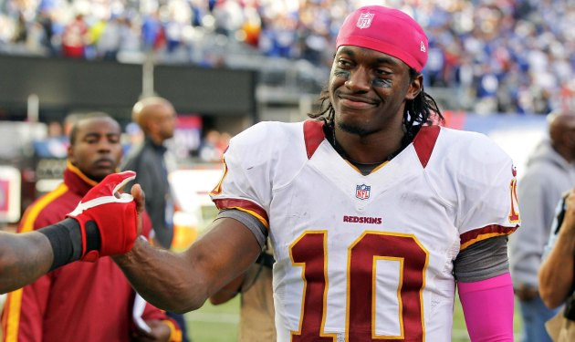 Robert Griffin III could play well enough to win himself some postseason hardware. (USATSI)