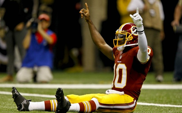 It's OK to celebrate, Washington. The Redskins played well last season. (USATSI)