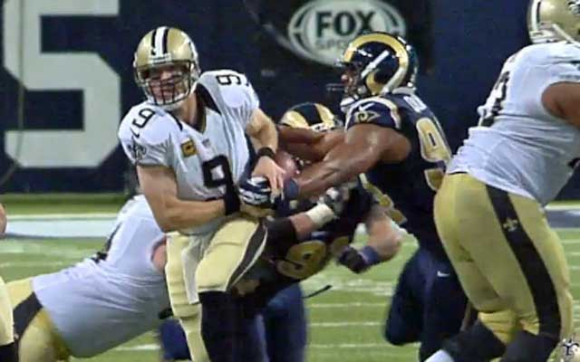 Robert Quinn got the strip on Drew Brees in a Week 15 win vs. the Saints.