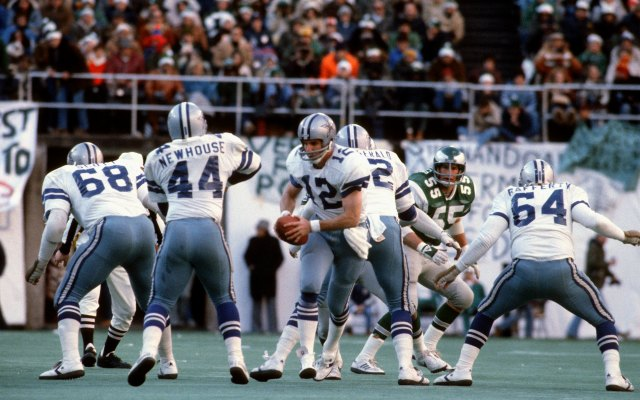 Quarterback Roger Staubach, shown here in 1978, led Dallas to plenty of Week 1 wins. (Getty Images)