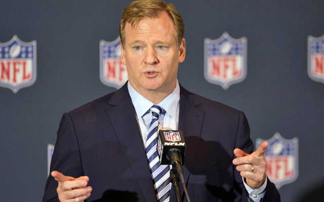 Roger Goodell hints that playoff expansion is a matter of when, not if. (USATSI)