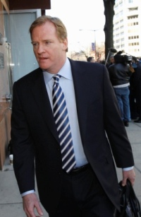 Roger Goodell said he's optimistic about the labor talks (AP).