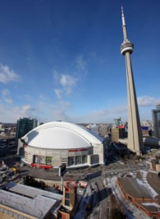 Toronto would have to revamp Rogers Centre or build a new stadium entirely in order to attract the NFL (US Presswire).