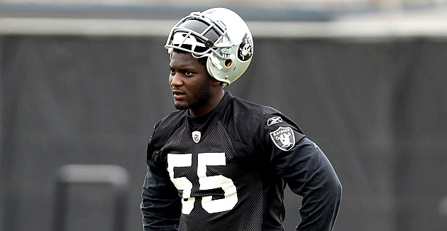 Rolando McClain's trying to restart his life by going back to school in Alabama. (Getty Images)