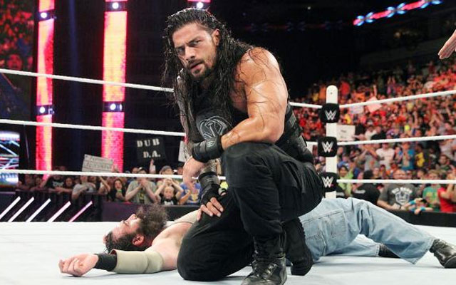 Roman Reigns' career is on an upward swing. (WWE)