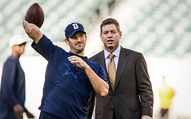 Troy Aikman: Tony Romo's back could be factor going forward