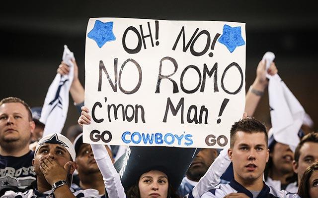 Tony Romo has a friend in LeBron James. (USATSI)