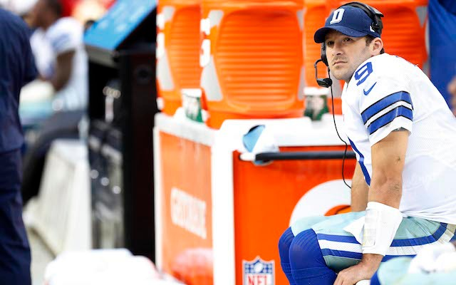 Tony Romo reportedly won't be playing in the Cowboys' regular-season finale vs. the Eagles. (USATSI)
