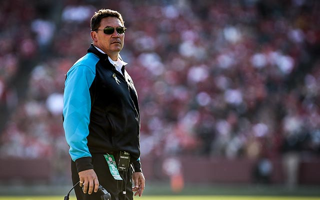 Ron Rivera took the Panthers from 1-3 to 12-4. (USATSI)