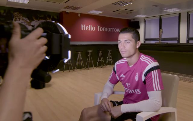 WATCH: Cristiano Ronaldo, Real Madrid get scanned into 'FIFA 16'