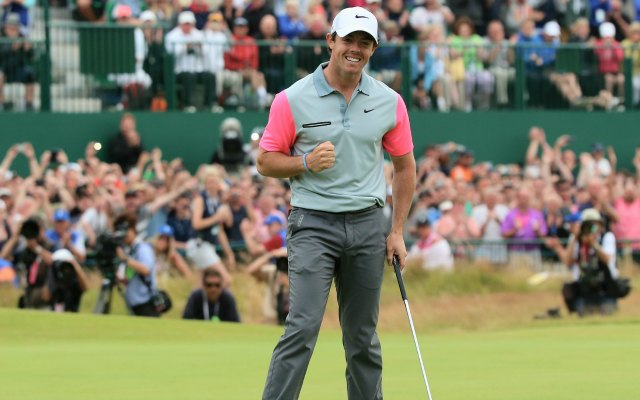 Rory McIlroy wins the 2014 British Open.