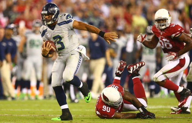 Russell Wilson threw three touchdowns Thursday. (USATSI)