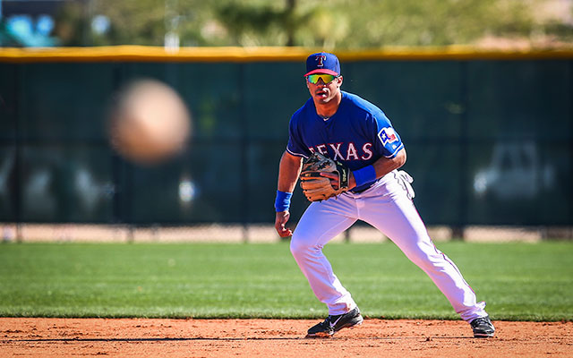 new arrival f7f37 1b185 Russell Wilson to suit up Saturday for Texas Rangers in ...