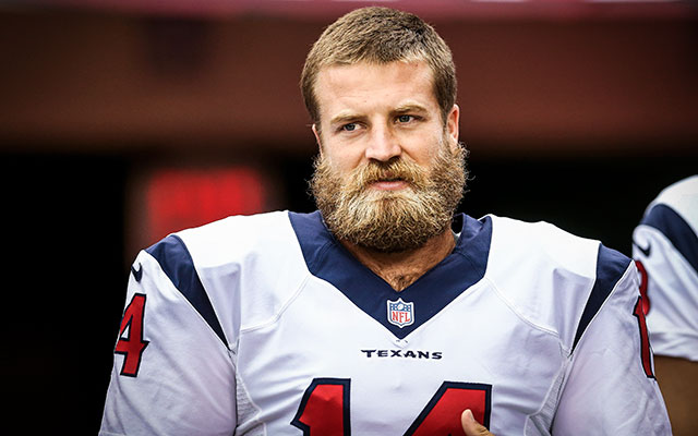 Ryan Fitzpatrick's Houston debut couldn't have gone worse. (USATSI)