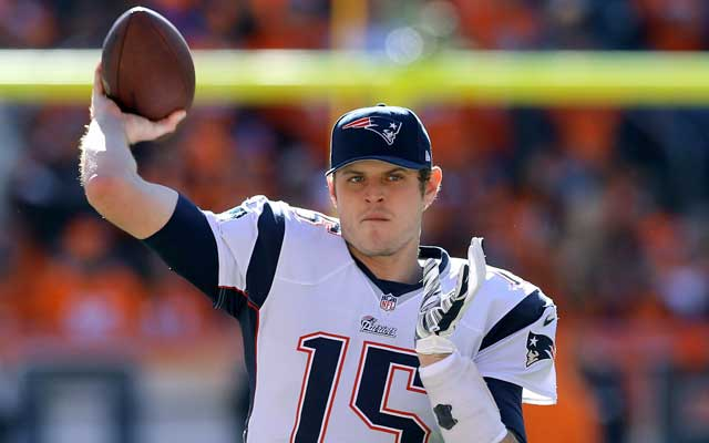 Ryan Mallett is entering the final year of his Patriots contract. (USATSI)
