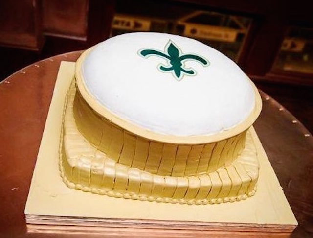 LOOK: New Orleans Saints-themed cakes made by fans - CBSSports.com