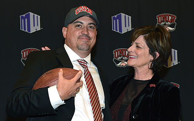 AD Tina Kunzer-Murphy looks to Tony Sanchez to lead UNLV into the light. (Getty Images)